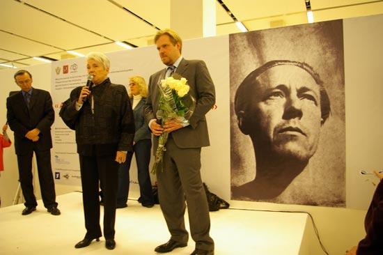 Открытие фотовыставки «Александр Солженицын и его время в фотографиях». Фото: Ульяна Ким/Великая Эпоха