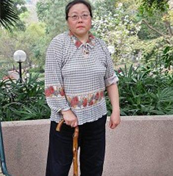 Руководитель Союза потерпевших от несправедливости Чжоу Миньчжу. Фото с epochtimes.com