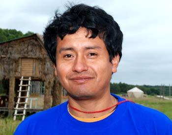 Оскар Валенсиа из Перу, студент РУДН. Фото: Юлия Цигун/Великая Эпоха