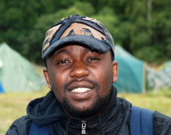 Жудель, студент Тульского государственного университета из Конго. Фото: Юлия Цигун/Великая Эпоха