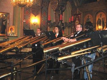 Роговые оркестры – уникальное  русское явление. Фото: Татьяна Серебрякова/Великая Эпоха