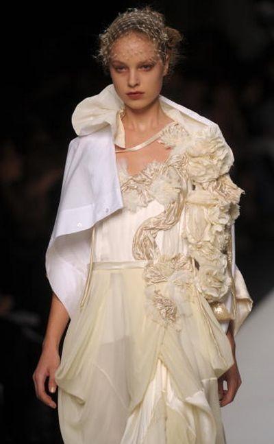 Показ весенне-летней коллекции Antonio Marras в рамках Недели высокой моды в Милане. Фото: GIUSEPPE CACACE/AFP/Getty Images