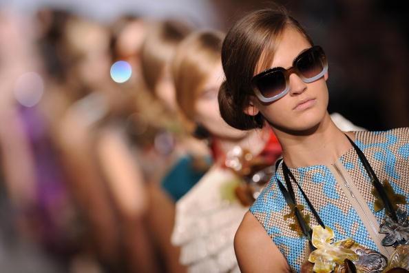 Показ весенне-летней коллекции Marni в рамках Недели высокой моды в Милане. Фото: CHRISTOPHE SIMON/AFP/Getty Images Images
