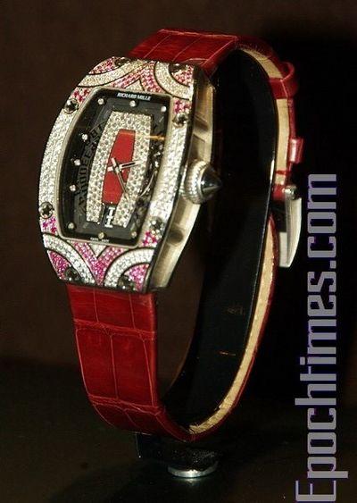 Новая коллекция часов Richard Mille 2010. Фото: Хуань Цзунмао/Великая Эпоха