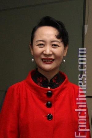 Эксперт по Китаю г-жа Шэн Сю. Фото: Чжан Ли /Великая Эпоха