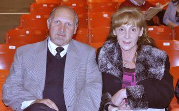 Бизнесмен мистер Лоусон с супругой, архитектором миссис Рубинфельд в пятницу вечером на представлении Shen Yun. Фото:  Великая Эпоха