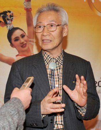 Цзеон Беом-Цзинь, бывший президент университета Сункьюнкван в Корее. Фото: Женьцуань Чжен /Великая Эпоха