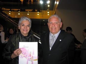 Тэрри Гэйзин (слева), музыкальный критик газеты Ontario Arts Review