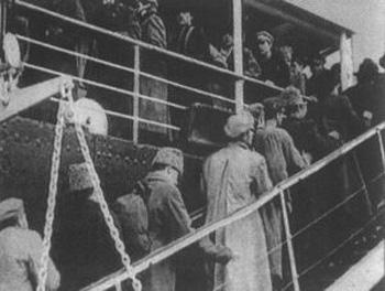 Эвакуация из Ялты. Фото: архив