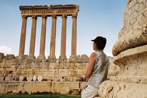 Внушительный ряд колонн храма Юпитера. Фото Бернда Крегеля