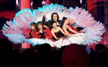 Выступление Филиппа Киркорова на открытии Евровидения-2009. Фото: Oleg Nikishin/Getty Images