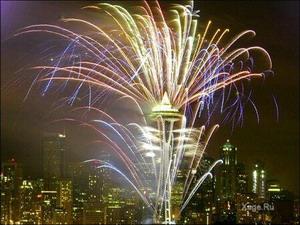 Празднование Нового Года в Сиэтле. Фото: С сайта xage.ru