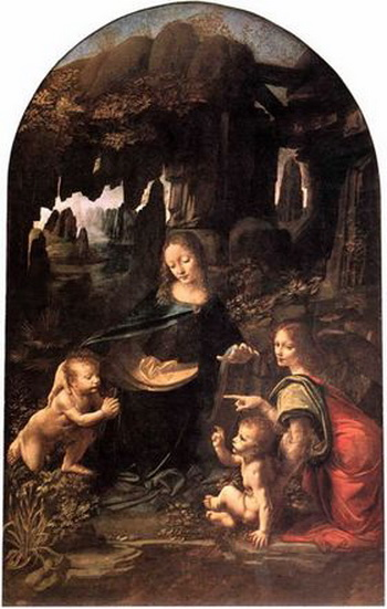 «Мадонна в скалах» Леонардо да Винчи