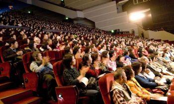 Зрители на представлении Divine Performing Arts в Тайбэе. Фото: Великая Эпоха