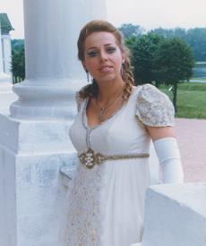 Знаменитая классическая оперная певица Анна Казакова