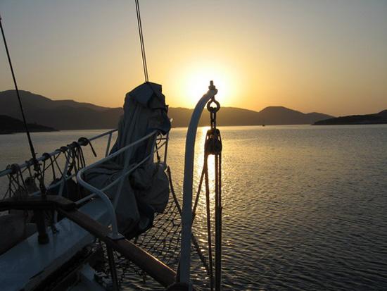 Закат на море. Фото: Ирина Рудская/Великая Эпоха