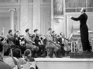 Концерт в блокадном Ленинграде. Фото: Великая Эпоха