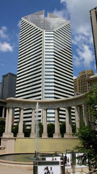 Сирс тауэр, 1-е по высоте здание в Чикаго и США. Фото: wikipedia.org