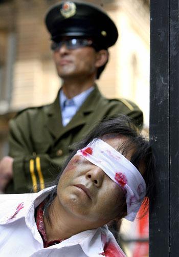 Мнение экспертов: Китай остается опасным местом проживания  для свободомыслящих людей. Фото:GREG WOOD/AFP/Getty Images