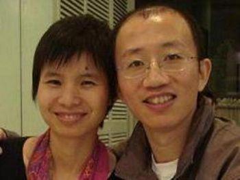 Гражданский активист Ху Цзя и его жена, которая в настоящее время находится под строгим домашним арестом. Фото: Великая Эпоха