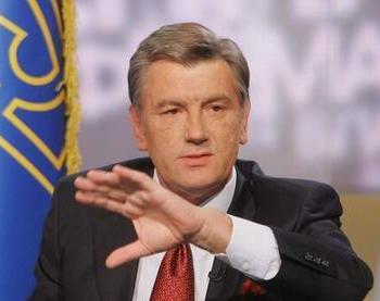 Президент Украины Виктор Ющенко объявил о том, что досрочно прекращает полномочия Верховной Рады 6-го созыва и объявляет досрочные выборы в парламент. Фото: president.gov.ua
