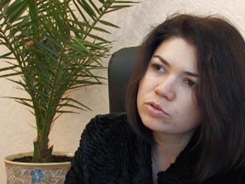 Виктория Сюмар: Я понимаю, почему русские власти запрещают эту брошюру с отчетом: потому  что там очень правильные выводы, к которым приходят исследователи. Фото: Евгений Бруг/NTD