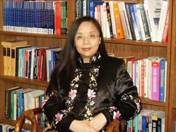 Экономист Хэ Цинлань. Фото предоставлено Хэ Цинлань