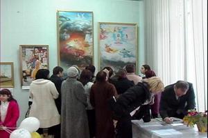 На выставке «Истина-Доброта-Терпение – искусство, дарованное свыше» в Новороссийске. Фото: Александр ЧУЛКИН/Великая Эпоха
