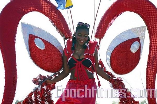 Карибский карнавал в Торонто/Zhouxing Великая Эпоха