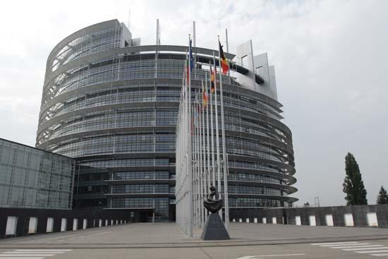Здание Европарламента,Страгбург.Фото:Лора ЛАРСИА/Великая Эпоха
