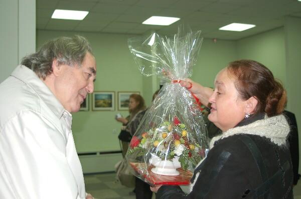 Подарок от Влада Кулешова. Фото:Ирина ОШИРОВА/Великая поха
