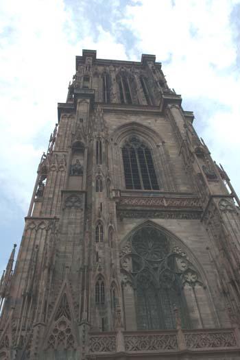 Страсбург. Нотр-Дам. Башня северного портала. Фото: Лора ЛАРСИА/Великая Эпоха