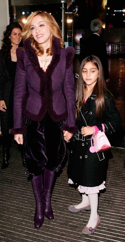 Мадонна с дочерью Лурдес. Фото: Dave Hogan/Getty Images
