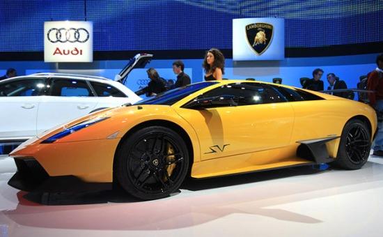 Lamborghini Murcielago LP 670-4 SuperVeloce. Фото Ленты.Ру