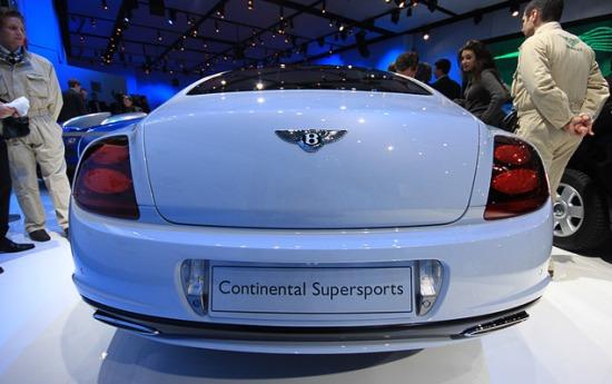 Bentley Continental Supersport. Фото Ленты.Ру