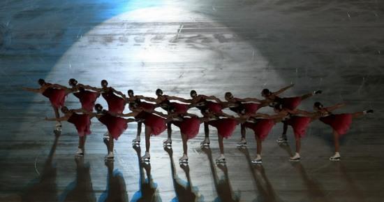 Русский балет на мексиканском льду. Фото: LUIS ACOSTA/AFP/Getty Images