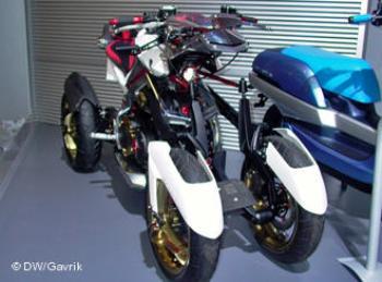 В этом году было представлено множество 4-колесных разработок. На снимке: перспективная разработка от Yamaha
