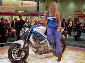Новая модель для начинающих (Suzuki Gladius)