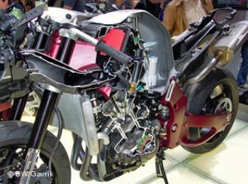 Новая модель от Yamaha в разрезе