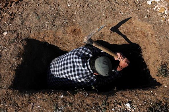 Турция. Добыча сепиолита. Фото: AFP