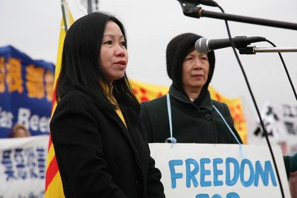 Г-жа Гяо Нгуен, вице-президент Вьетнамской общины Вашингтона (ОК), Вирджинии и    Мэриленда. Фото: Великая Эпоха