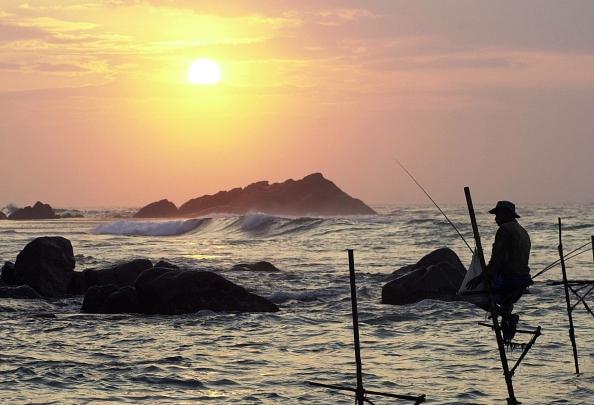 Особенности Шри Ланкийской рыбалки. Фото: LAKRUWAN WANNIARACHCHI/AFP/Getty Images