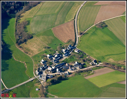 Германия с высоты птичьего полета. Фото с secretchina.com