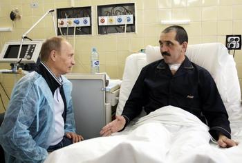 Президент Ингушетии Юнус-Бек Евкуров. Фото: ALEKSEY NIKOLSKYI/AFP/Getty Images