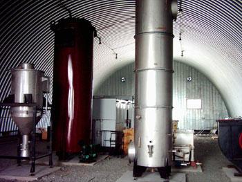 Комплекс на базе инсинератора. Фото: ЗАО