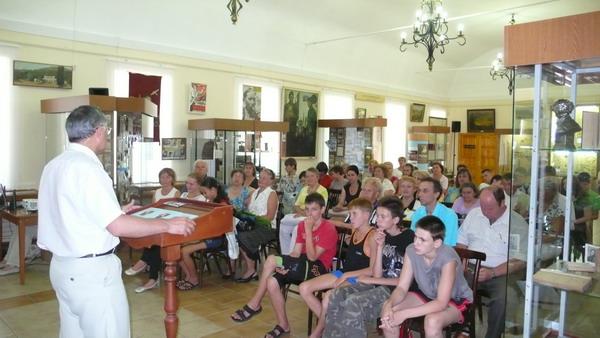 В историко-краеведческом музее