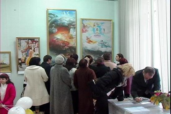 На выставке «Истина-Доброта-Терпение – искусство, дарованное свыше» в Новороссийске. Фото: Великая Эпоха