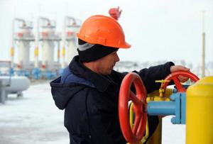 Россия 1 января полностью прекратила поставки газа на Украину. Фото: SERGEI SUPINSKY/AFP/Getty Images