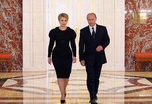 Владимир Путин и премьер-министр Украины Юлия Тимошенко договорились о цене на газ на 2009 год. Фото: С сайта premier.gov.ru