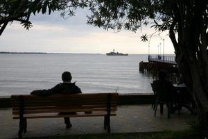 Главный штаб ВМФ РФ сообщил о том, что уже в 2009 году Россия приступит к созданию военной базы в абхазском порту Очамчира. Фото: IBRAGIM CHKADUA/AFP/Getty Images